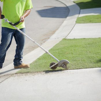 Pipeline Landscaper Edging Lawn