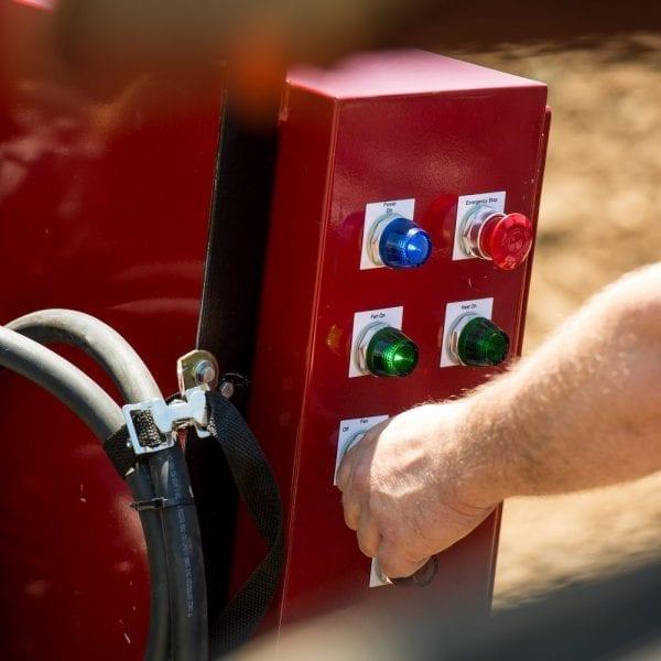 soil dryer controls
